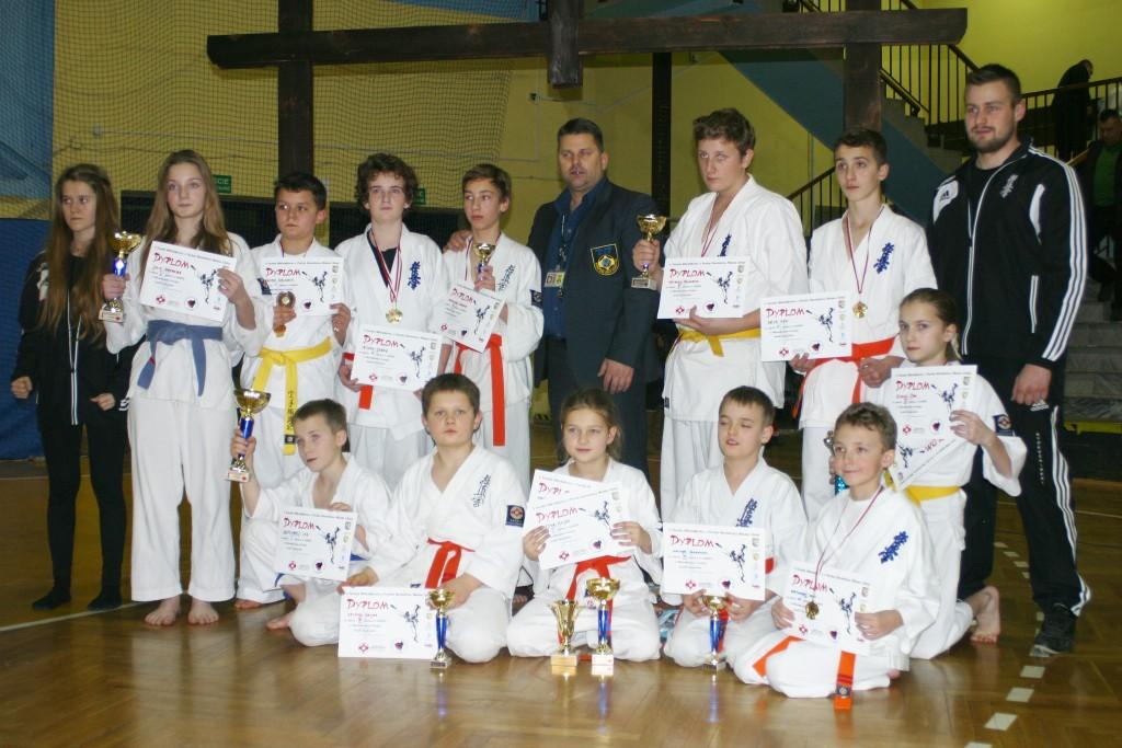 V turniej w Libiąży - Karate Limanowa
