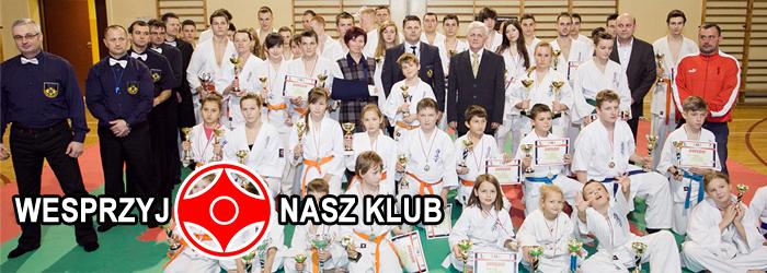 Limanowski Klub Kyokushin Karate - Zostań Sponsorem
